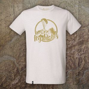 T-Shirt Fly Dolos - Heather Creme