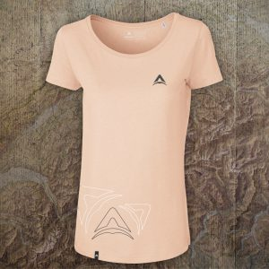 Abgeflogen modal T-Shirt - Pales Peach