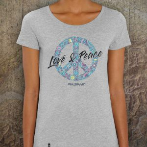 Love & Peace | Paragliding Girls - Heather Grey